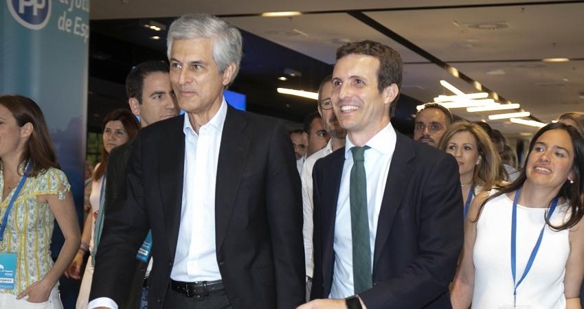 Adolfo Suarez Illana y Pablo Casado
