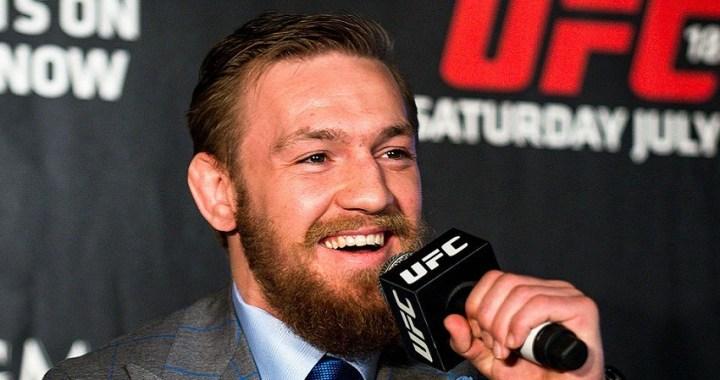 Conor McGregor arrestado por robar y destrozar el móvil de un fan