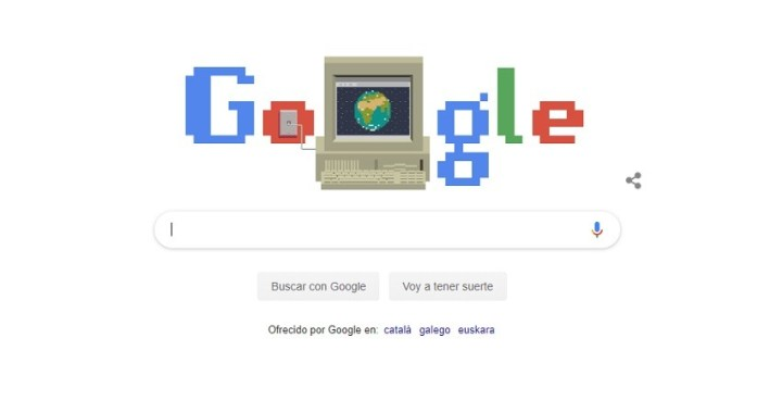 Google Doodle celebra el 30 cumpleaños de la World Wide Web