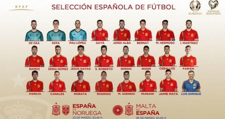 Luis Enrique revoluciona la Selección