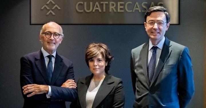 Soraya Sáenz de Santamaría ficha por el bufete de abogados Cuatrecasas