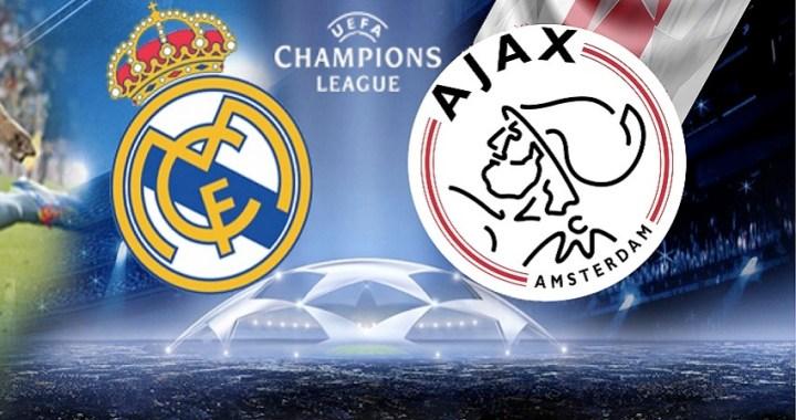 A qué hora juega el Madrid vs. Ajax de los Octavos de Final de la UEFA Champions League