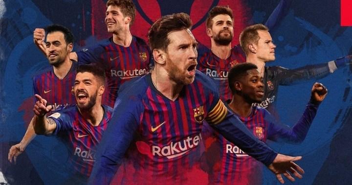 El Barcelona gana su décimo campeonato de liga en quince años