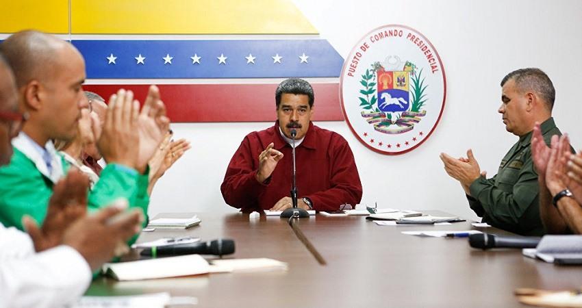 Maduro anuncia un plan de racionamiento de energia electrica de 30 dias