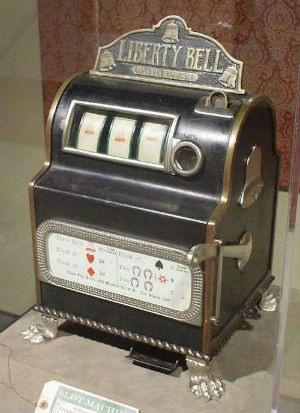Maquina tragaperras de Charles Fey