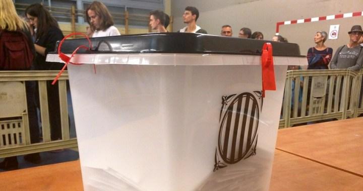 Una juez de Barcelona procesa a 30 altos cargos del Govern por el referéndum ilegal del 1-O