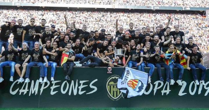 El Valencia gana la Copa del Rey y hunde al Barça