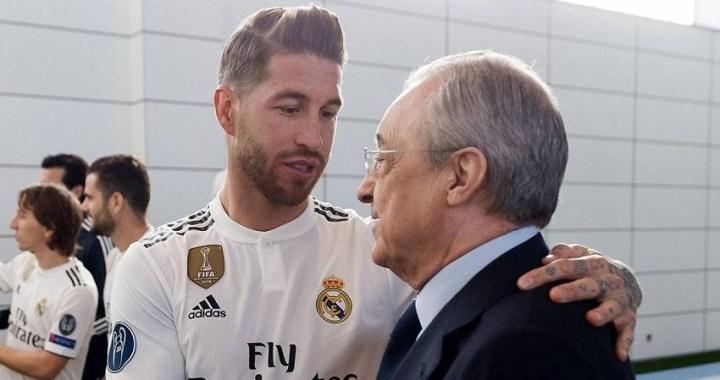 La compleja relación entre Florentino Pérez y Sergio Ramos