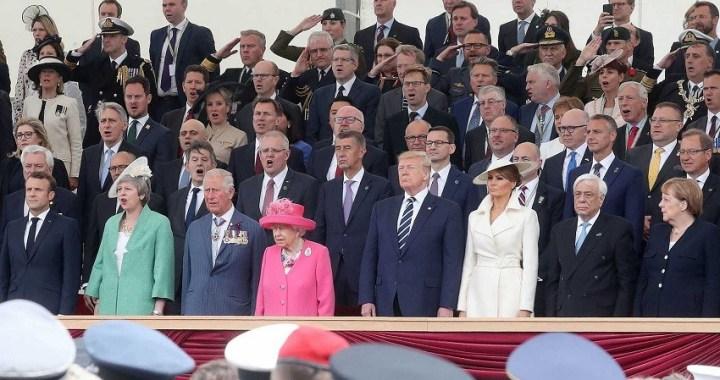 Líderes mundiales celebran el 75º aniversario del Día D