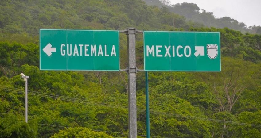 Frontera Mexico con Guatemala