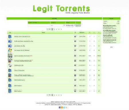LegitTorrents