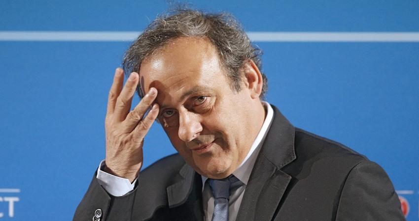 Platini arrestado irregularidades