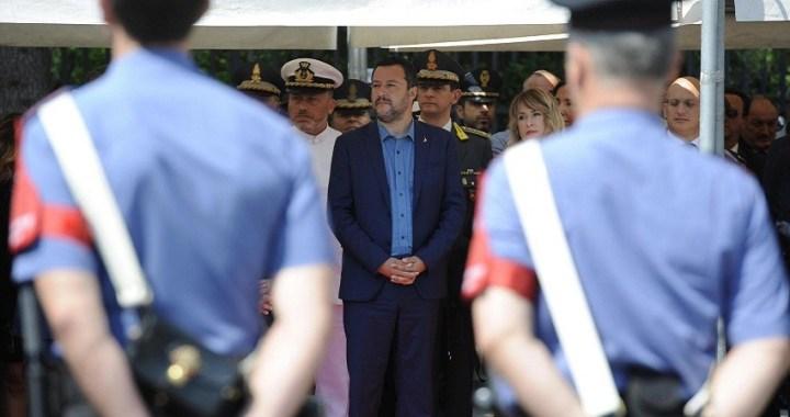 """La """"conexión rusa"""" de Matteo Salvini"""