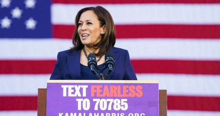 Kamala Harris sube en las encuestas para las primarias demócratas de Estados Unidos