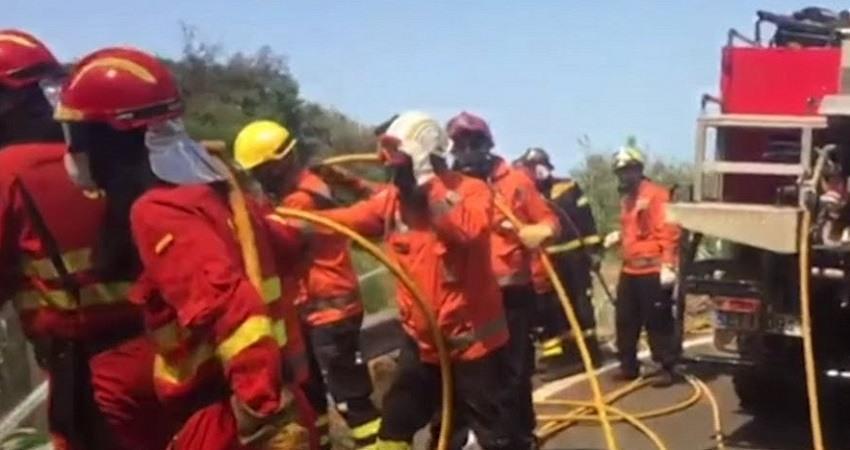 Incendio Islas Canarias
