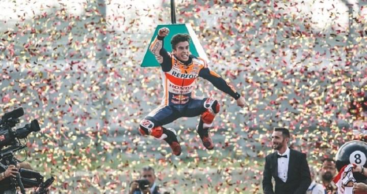 Marc Márquez se proclama campeón del mundo por octava vez