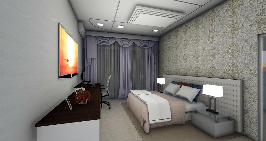 Dormitorios espaciosos