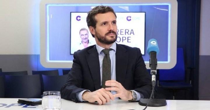 """Casado: """"El PP tiene que aglutinar toda la moderación y la centralidad de espacio que ha quedado huérfano en España"""""""