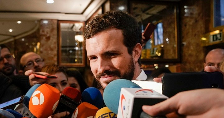 """Casado insta a Sánchez a que aclare de qué lado está: """"si de los independentistas a los que les debe el puesto o de la Justicia española"""""""
