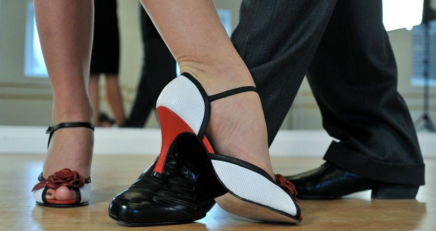 Zapatos de tango para mujer