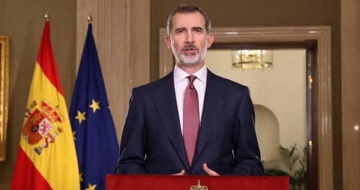 """El Rey llama a unirse ante el coronavirus: """"No nos vencerá, nos hará más fuertes como sociedad"""""""