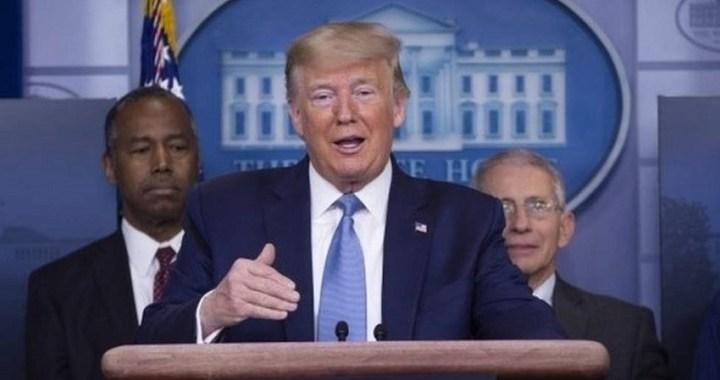 """Trump asegura que """"el cierre de la economía de EEUU puede causar más muertes que el coronavirus"""""""