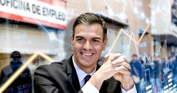Vox: Sánchez e Iglesias hunden la economía hasta un 18.5%