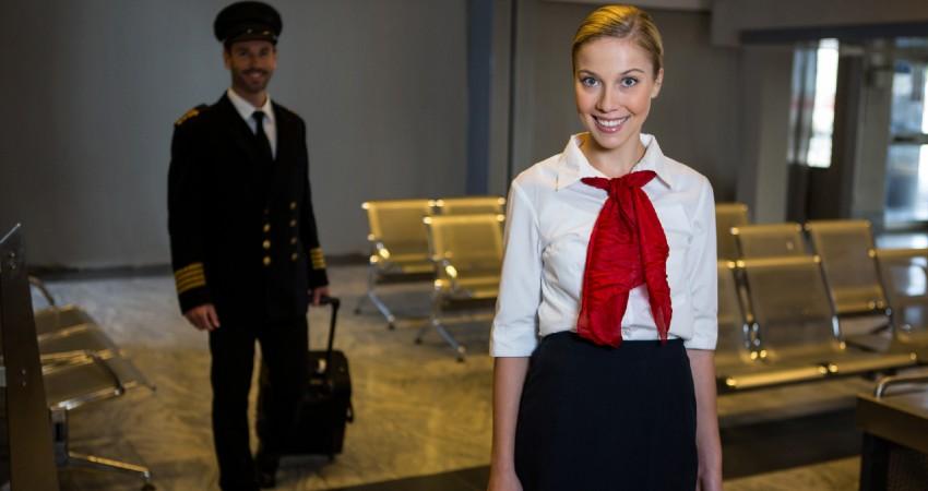 ser azafata de vuelo en Barcelona