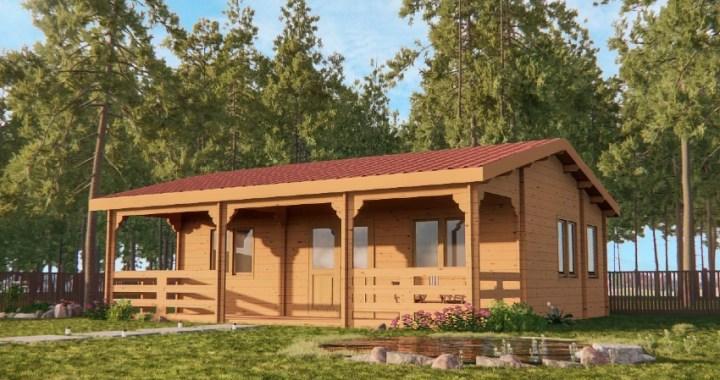 Casas de madera: ventajas y problemas