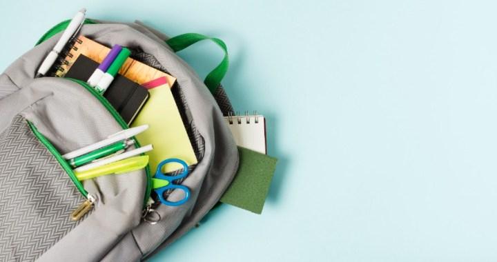 Todo el material escolar que necesitas para la vuelta al cole