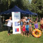 """Longaví: Senda Previene lanzó """"Verano sin drogas y alcohol """"en piscina municipal"""