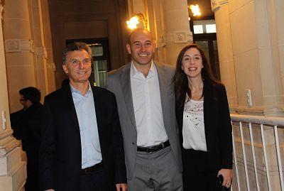 Macri y Vidal eligieron Quilmes para anunciar un megaplan de obras
