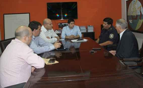 Molina recibió al nuevo Jefe Departamental