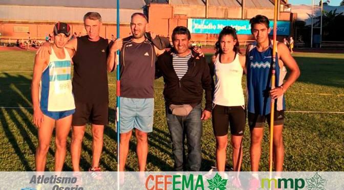 Agustín Osorio clasificó para los Odesur (Chile), y los chicos de Cefema, a full