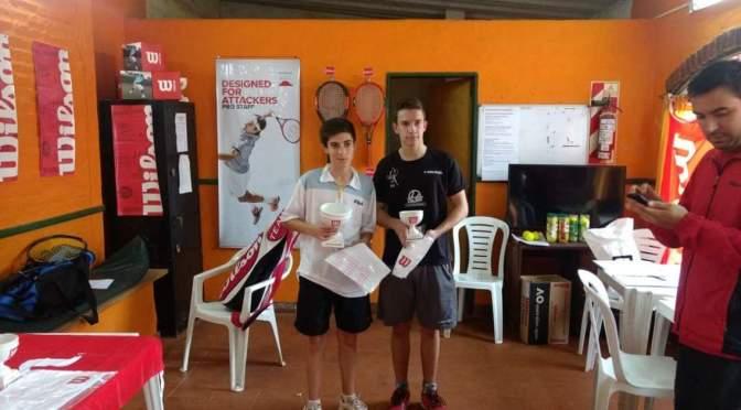 Francisco Iturria, campeón en tenis, por Sapa