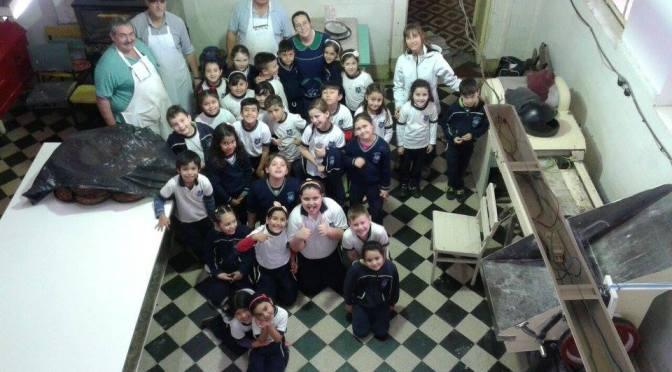 Jornada de  capacitación en el taller de panadería, en la Colonia Gutiérrez