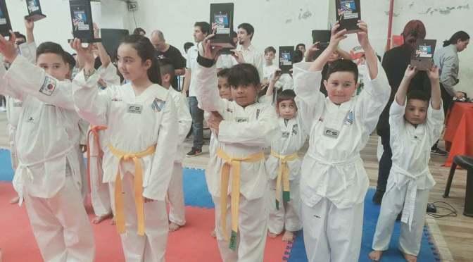 Taekwondo, primeros en la ciudad de Mar del Plata