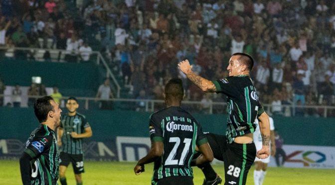 El goleador de Marcos Paz, Leo Ramos, arrancó con un golazo de cabeza en México, su nuevo destino