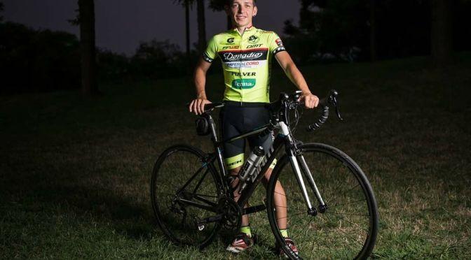 Sergio Lucas, el chico que corre en bici pista