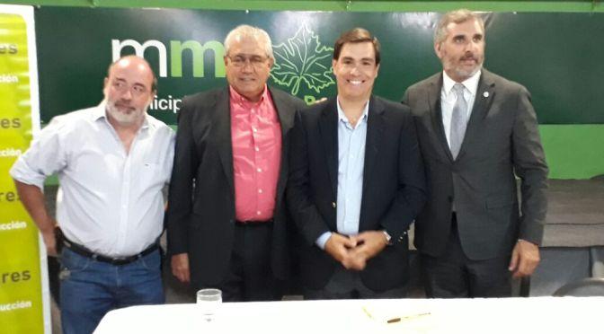 Tizado y Curutchet firman acuerdo de cesión de parcelas para la creación de un Parque Industrial en Marcos Paz