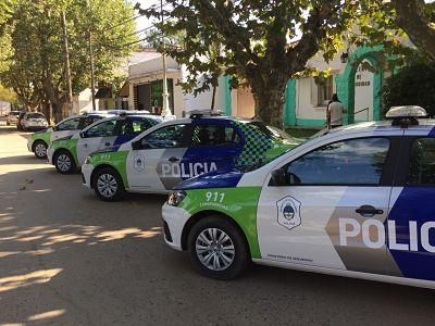 Provincia entregó 4 patrulleros para Marcos Paz