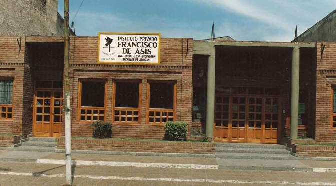Parte de la historia del 25º aniversario del Instituto Privado Francisco de Asís