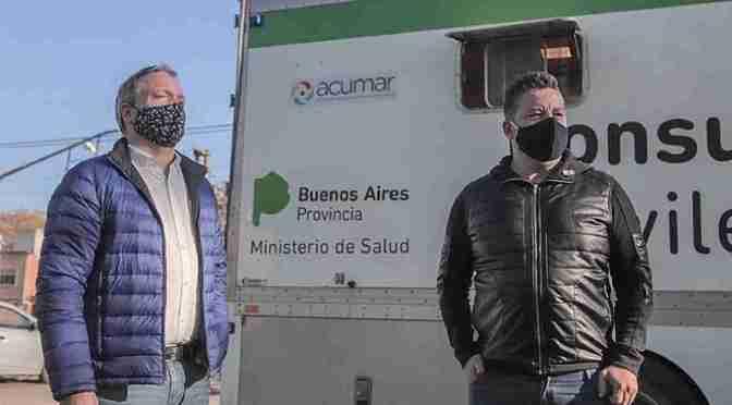 Sabbatella y Menéndez participaron del operativo DETeCTar en Merlo