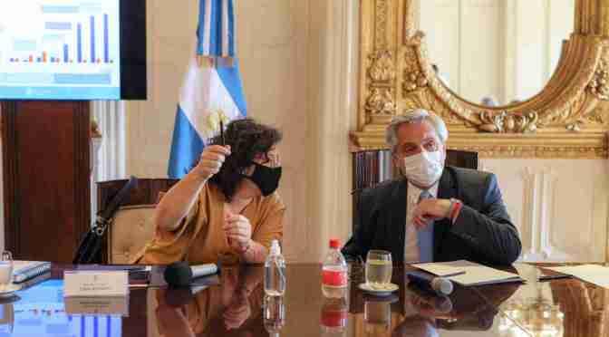 El Presidente encabezó una nueva reunión del Comité de Vacunación contra el coronavirus