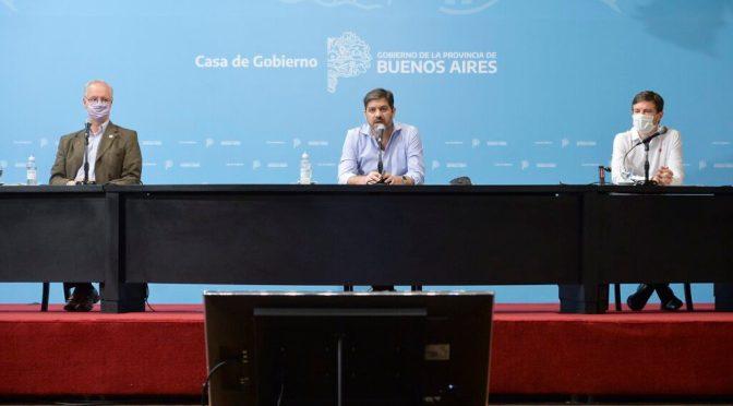 Daniel Gollan confirmó que instalarán centros de aislamiento en el AMBA