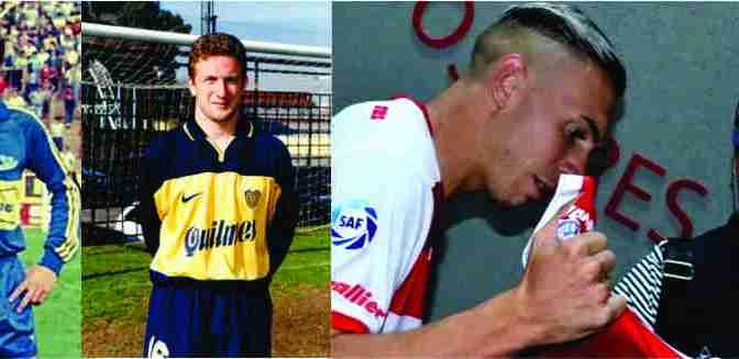 Norberto Briasco se transformó en el  tercer jugador de Marcos Paz en vestir la camiseta de Boca