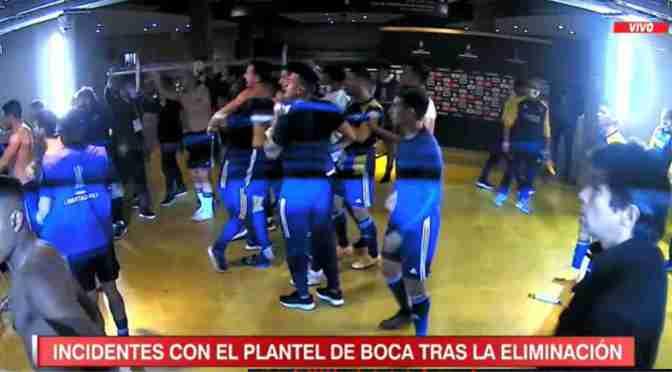 Briasco está aislado con el plantel de Boca en el Intercontinental, implicado en los disturbios.
