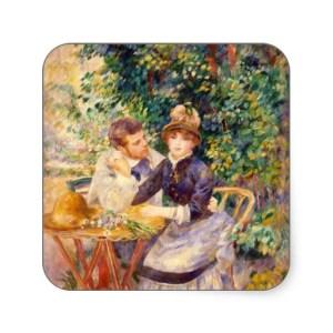 No jardim 1885 - Renoir