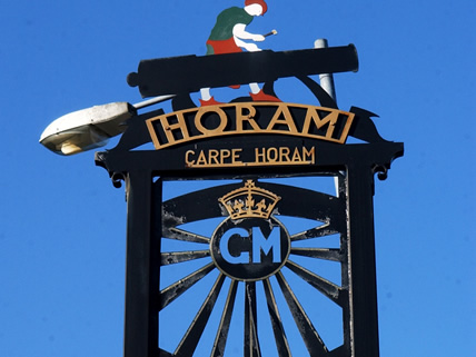 Horam Village Sign