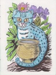 Blue Ocelet Tea